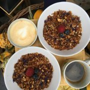 Jogurt s domácí granolou